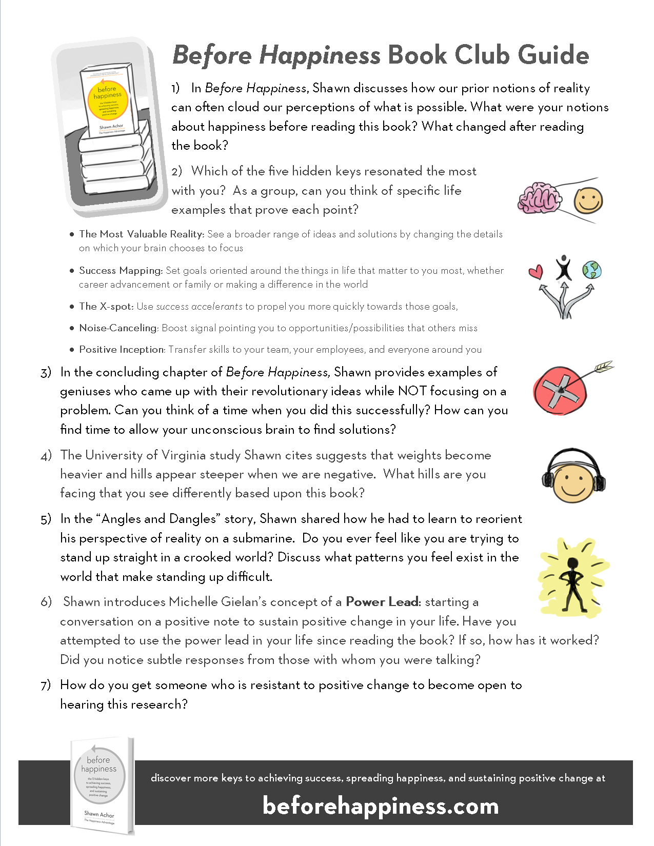 Before Happiness Goodthink Inc – Happiness Worksheets